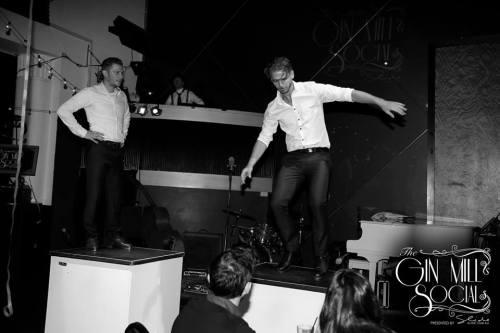 Tap dancing - very 1920s!