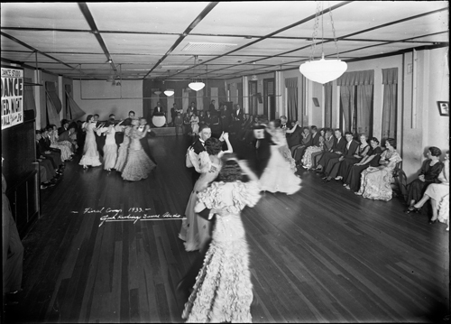 Keating's Dance hall, Newtown, Sydney 1933