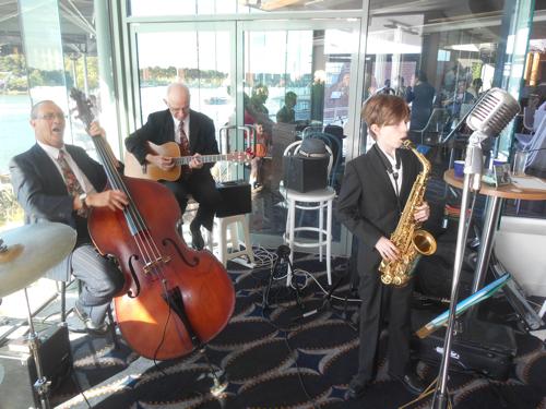 Damon Poppleton alto sax and clarinet