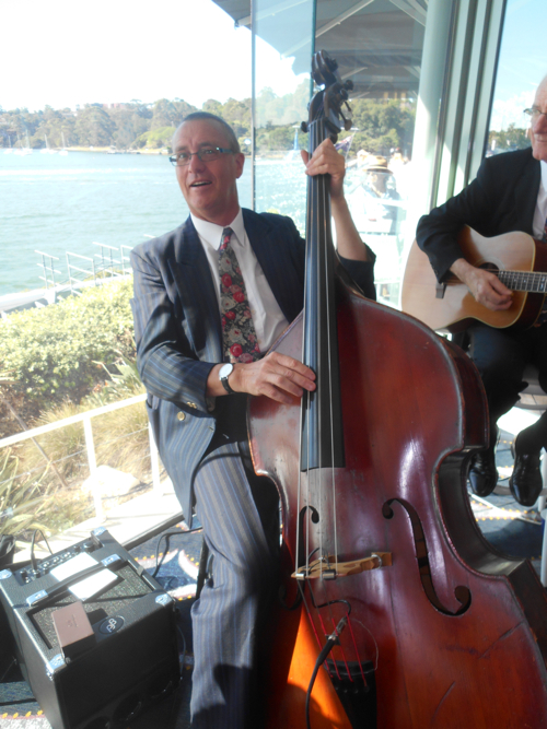Dave Clayton, double bass