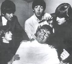 Bob Rogers with The Beatles.