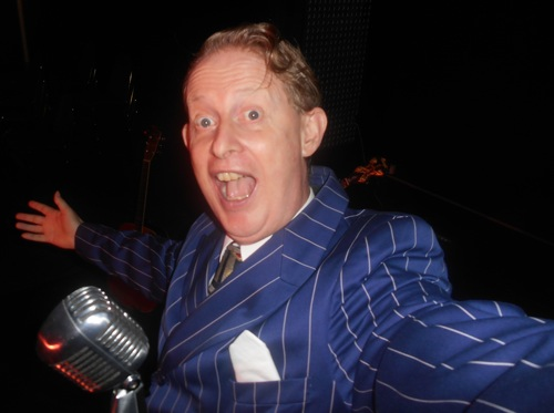 Greg Poppleton, 1920s-30s singer and band leader of the Bakelite Broadcasters. He returns to the Builders' Club Sun 16 Apr. He'll be leading an exciting 1920s-30s show at Foundry 616, Thursday 19 January. Dinner and show BOOK NOW
