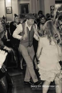 Charleston dancing to Greg Poppleton and the Bakelite Broadcasters