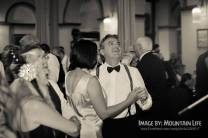 Enjoying the 1920s jazz of Greg Poppleton and the Bakelite Broadcasters