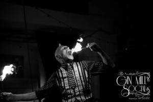 Finhead the fire eater