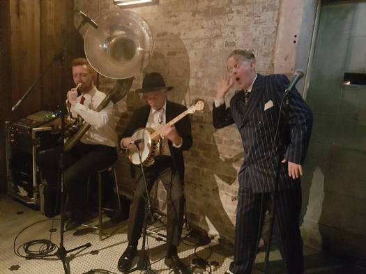 1920s jazz trio