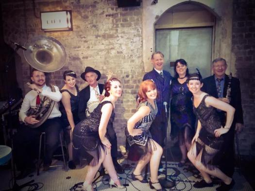 dancers and 1920s Greg poppleton jazz band