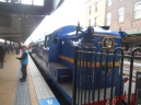 Vintage train at Central Station