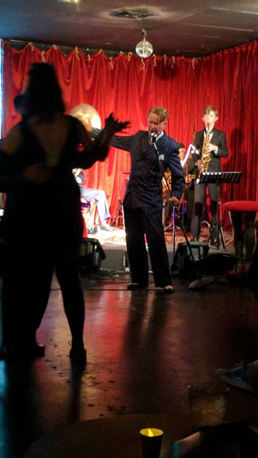 Swing Night with Greg Poppleton at Django Bar, Sunday 16 July