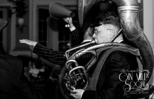 Geoff Power, sousaphone, Greg Poppleton's 1920s Trio