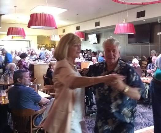 Dancing to Greg Poppleton's 1920s - 1930s jazz and swing