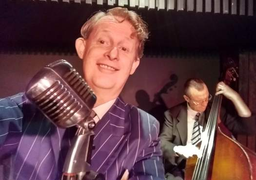 Greg Poppleton 1920s - 1930s jazz swing singer and band leader