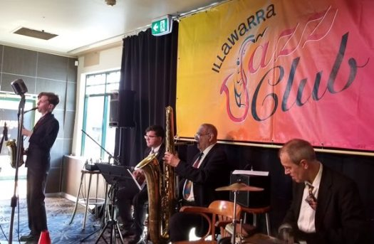 The Greg Poppleton band at Corrimal Hotel