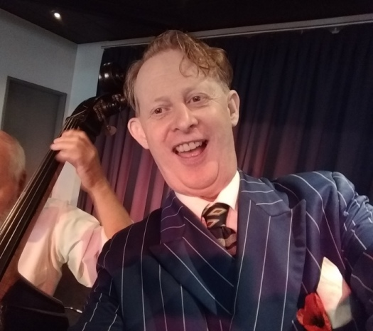 Greg Poppleton is Australia's only authentic 1920s - 1930s singer