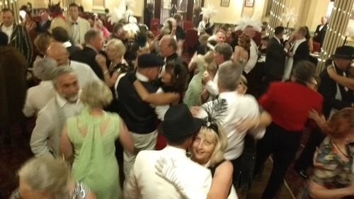 Dancing to Greg Poppleton at the 2018 Great Art Deco Ball