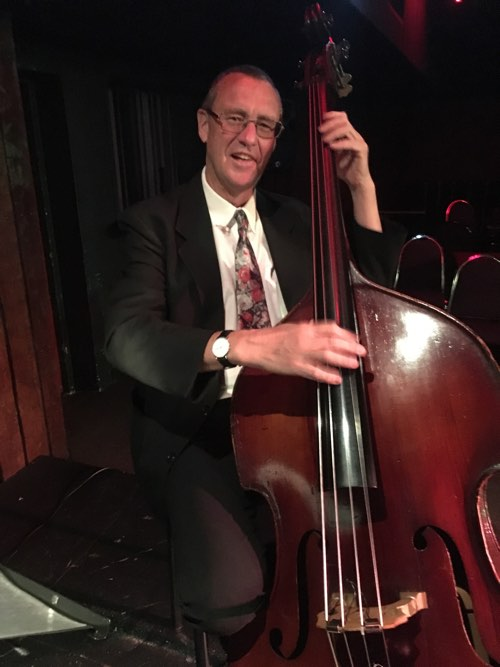 Dave Clayton, double bass with Greg Poppleton