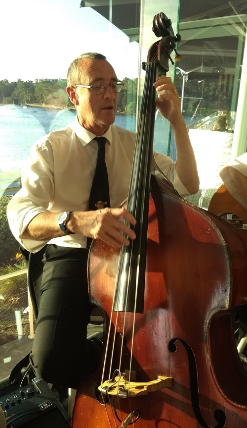 Dave Clayton double bass
