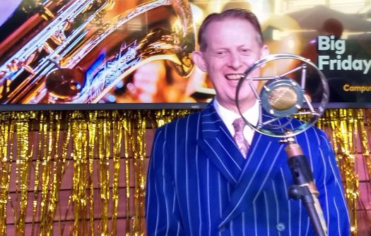 Greg Poppleton, Australia's only authentic 1920s-30s singer