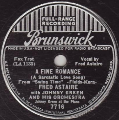 johnny green record