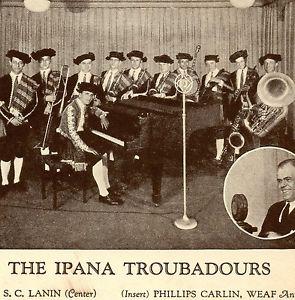 ipana troubadours