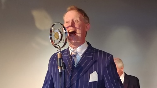 Greg Poppleton is Australia's only authentic 1920s-30s singer