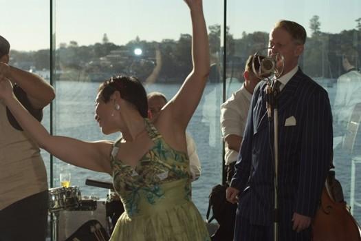 Swing dancing to Greg Poppleton