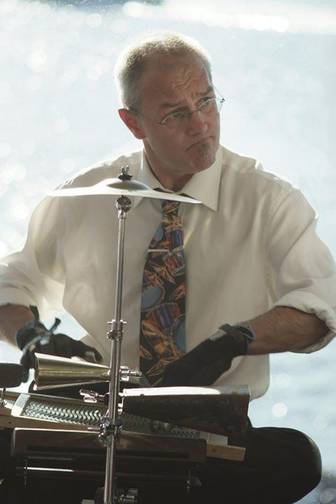 Adam Barnard washboard and percussion