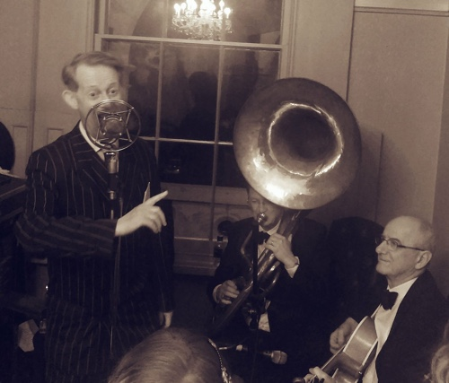 greg poppleton 1920s great gatsby jazz trio based in Sydney