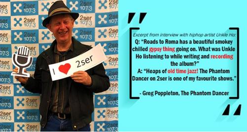 2SER Greg Poppleton