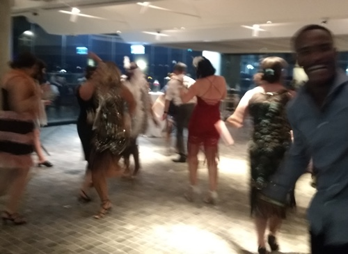 Dancing to Greg Poppleton's 1920s Music, New Years Eve 2018-2019