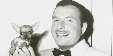 Cugat and dog