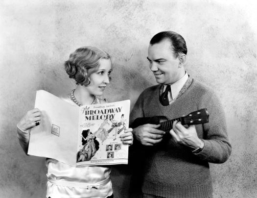 Cliff Edwards and Bessie Love