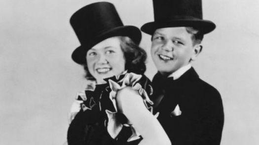 Doris Day and dance act partner Jerry, 1937