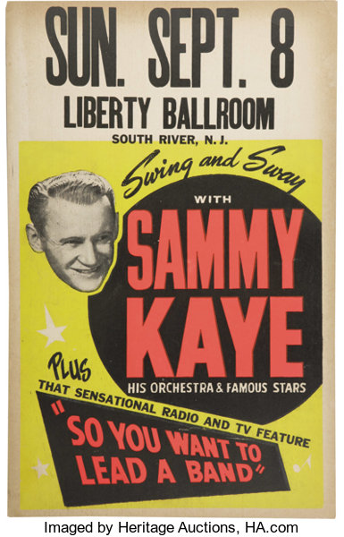 sammy kaye TV