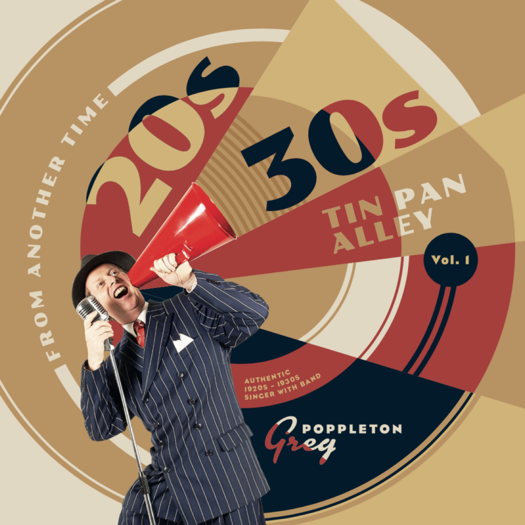 Greg Poppleton 20s 30s Tin Pan Alley Volume 1