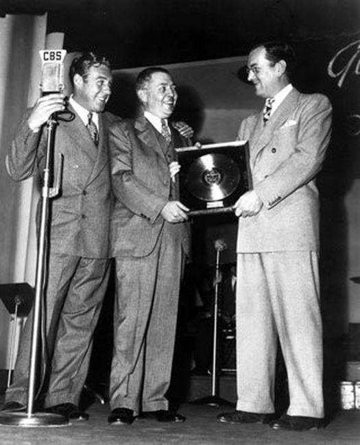 Glenn Miller gold record 1942