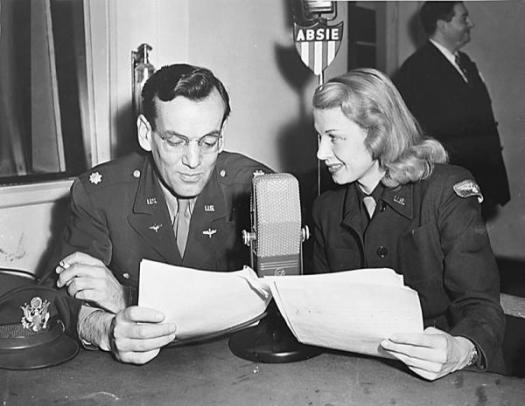 Glenn Miller and Irene manning