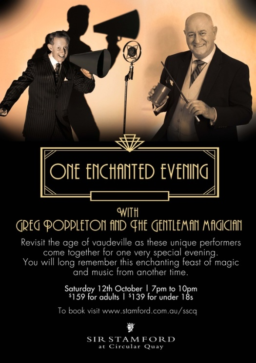 One Enchanted Evening Greg Poppleton Bruce Glen Music and magic show