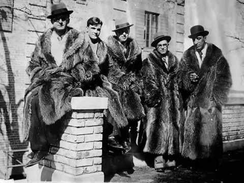 dorsey brothers band racoon coats