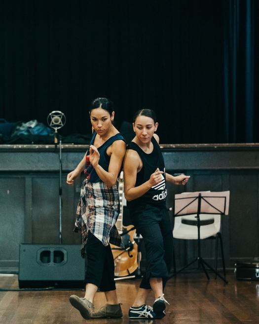 Dance Makers at rehearsal