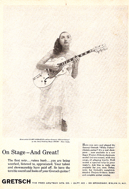 mary osbourne guitar