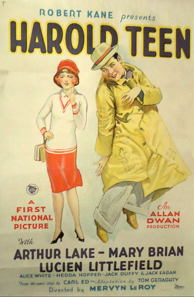 Harold Teen 1928 movie poster