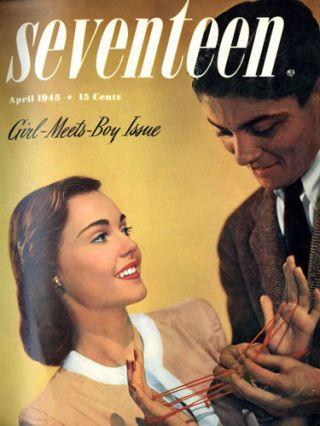 April 1945 Seventeen cover
