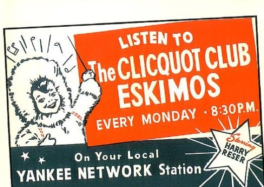 clicquot club eskimos poster