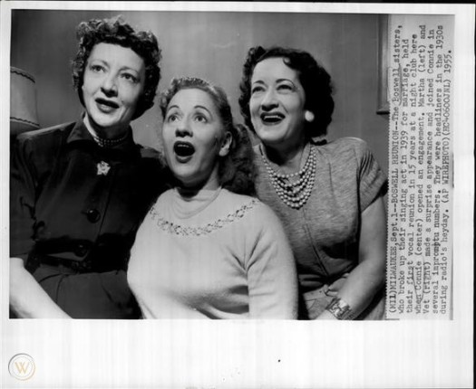 boswell sisters 1955