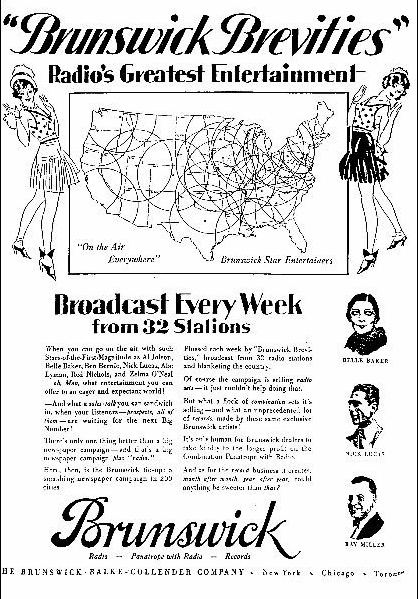 brunswick brevities us radio