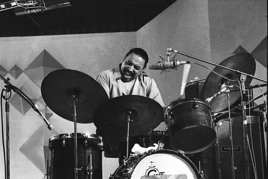 Chico Hamilton drums