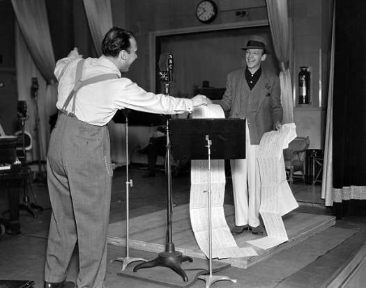 Fred Astaire and Johnny Green, the Packard Hour